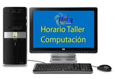 Horario Taller Computación