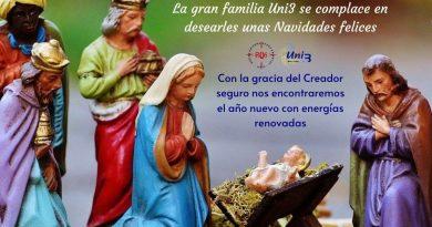 Feliz Navidad a la Gran Familia UNI3